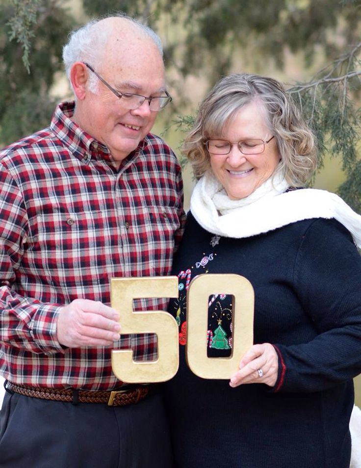 50th wedding anniversary close to Christmas
