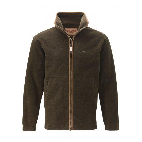 Schoffel | Cottesmore Fleece Jacket | Dark Olive