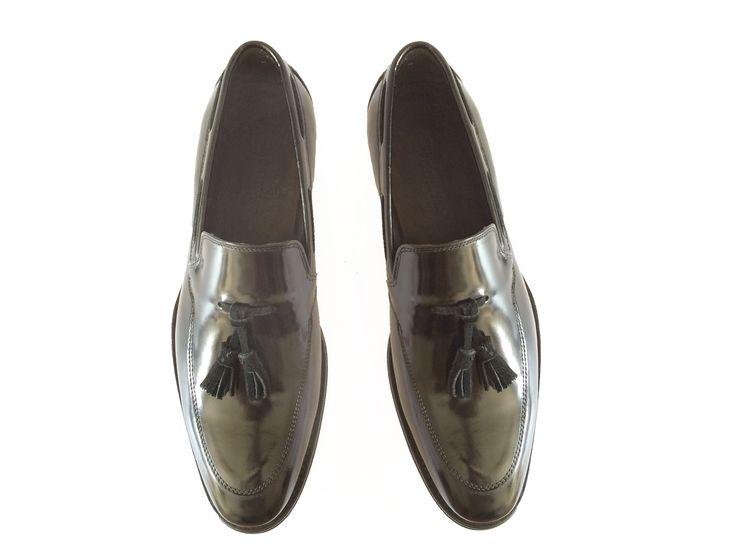 Classic Loafer (Black) | Vicino Italian Men Shoes – Vicino Italian Handmade Shoes for Men