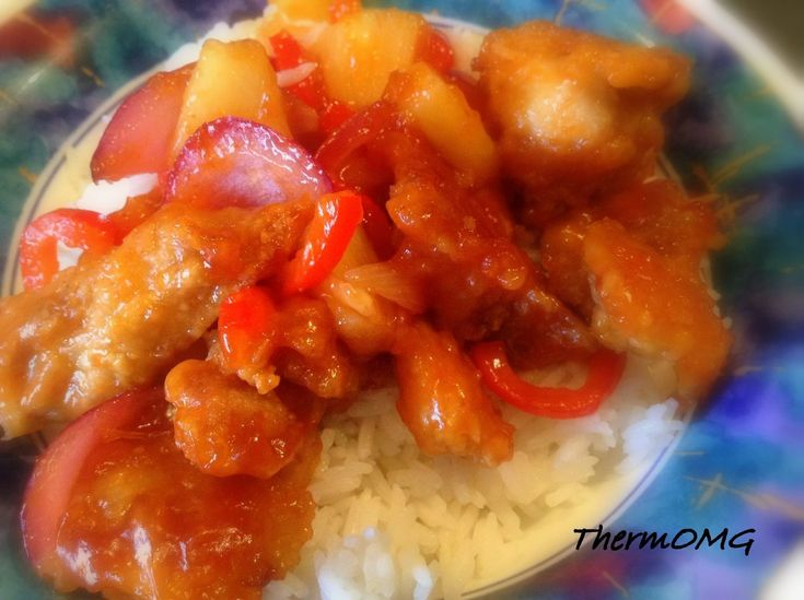 Sweet and Sour Chicken — ThermOMG