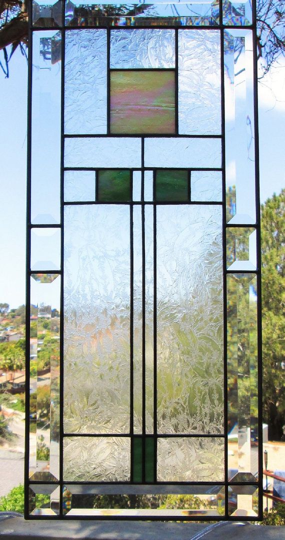 Frank Lloyd Wright Iridescent Stained GlassBeveled by dreamworkspb
