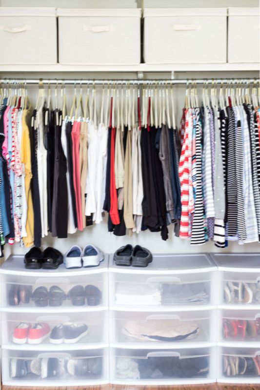 closet 5 easy tips storage storage binsshoe