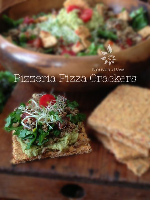 Pizzeria Pizza Crackers are gluten-free and made with whole ingredients