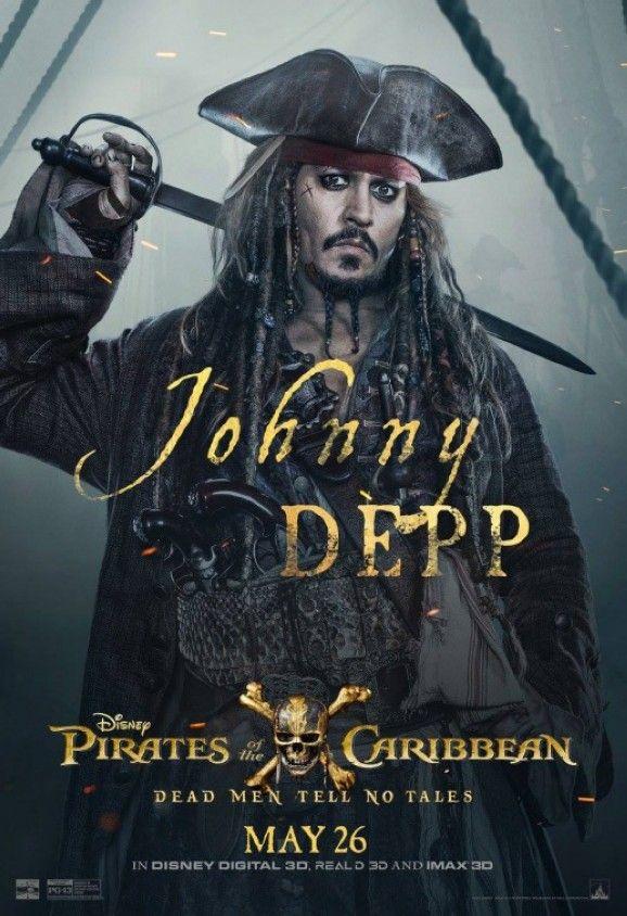 Neues Poster zu Fluch der Karibik 5: Johnny Depp