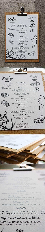 Carta para el restaurante El estrecho