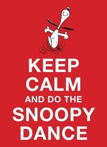 Keep Calm and Do the Snoopy Dance #golfmemes