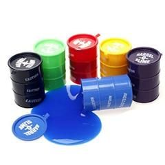 Colored Barrel Of Slime Six Different Colors Of Barrel of Slime,.Toy:BOS6 - Sears
