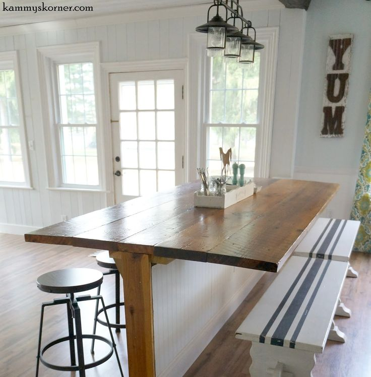 1000+ Ideas About Barn Wood Tables On Pinterest