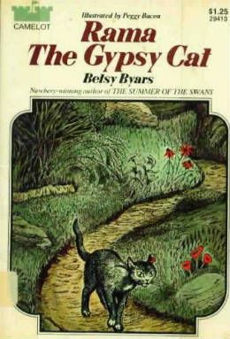 RAMA THE GYPSY CAT Betsy C Byars Scholastic Book 1970