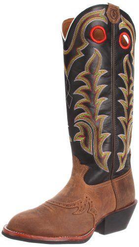 Tony Lama Boots Men's RR1002 Boot,Tan Crazy Horse/Black Baron Calf,8.5 D US - http://authenticboots.com/tony-lama-boots-mens-rr1002-boottan-crazy-horseblack-baron-calf8-5-d-us/