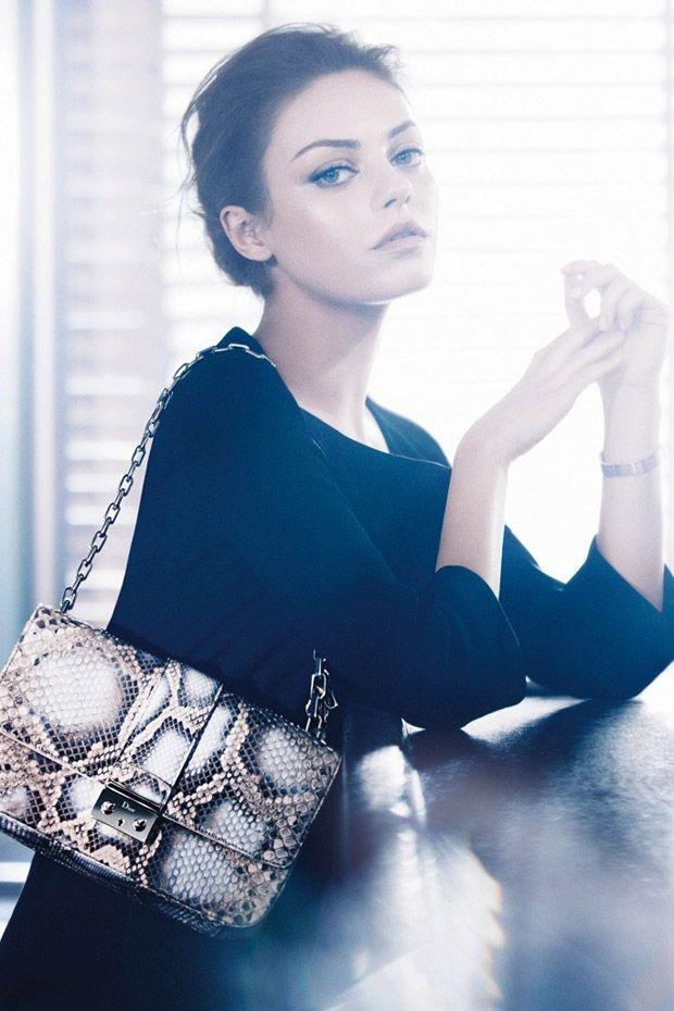Mila Kunis for Dior. So beautiful.