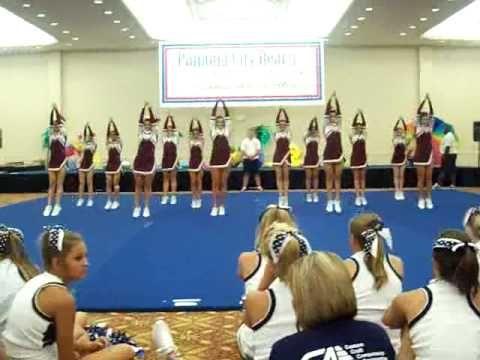 Uca Cheer Camp 2010! False River Academy Varsity - YouTube