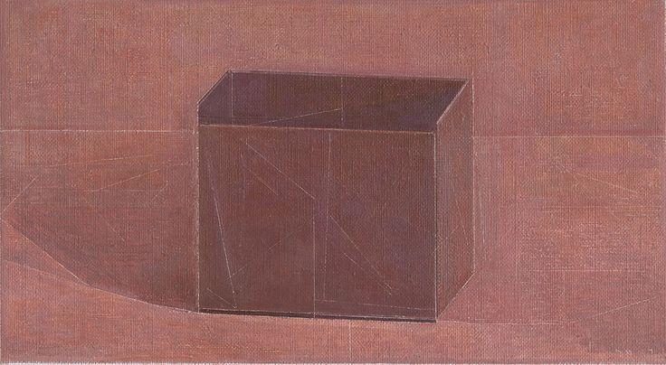 NICK MOURTZAKIS     'Black Box' Oil paint on linen