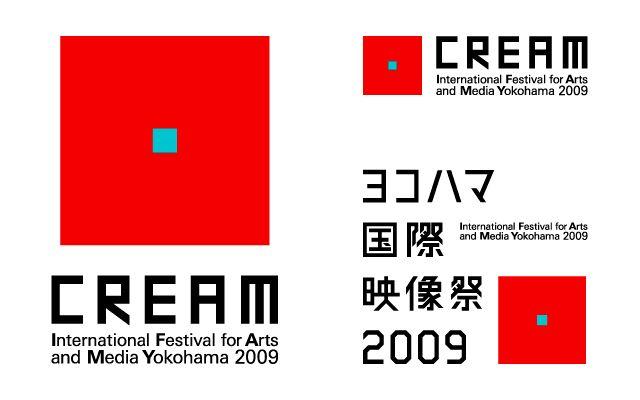 CREAM ヨコハマ国際映像祭 2009 マーク・ロゴタイプ