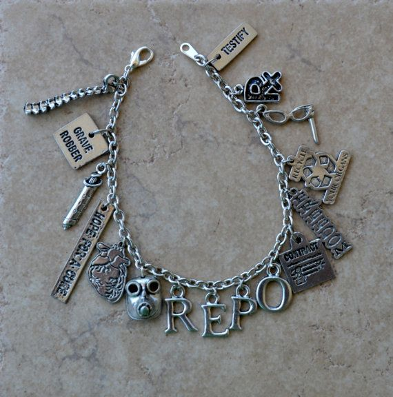 Repo The Genetic Opera  Charm Bracelet by Astrophe on Etsy, $29.00