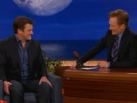 'My iPhone 5 loves me,' Nathan Fillion tells Conan The former Firefly star talks to Conan O'Brien about his relationship with his new iPhone.