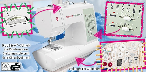 SINGER Computer-Nähmaschine/Sewing Machine.  Just bought and can't wait to start some projects