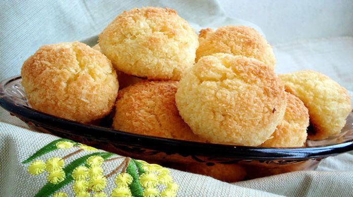 Быстрое печенье без муки из трех ингредиентов
