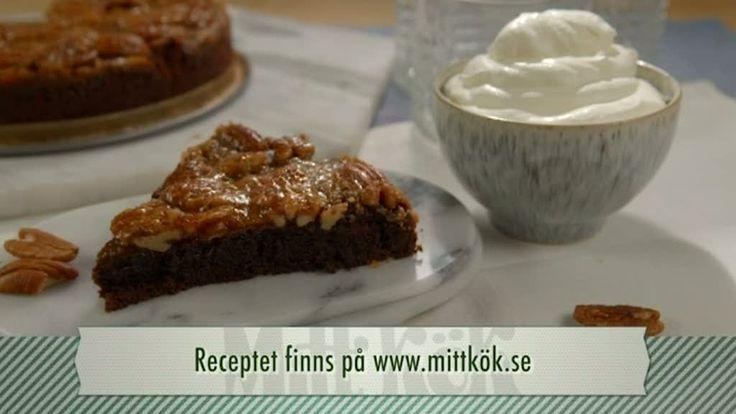 Pannacotta på vit choklad med limemarinerade jordgubbar - Recept - Mitt Kök