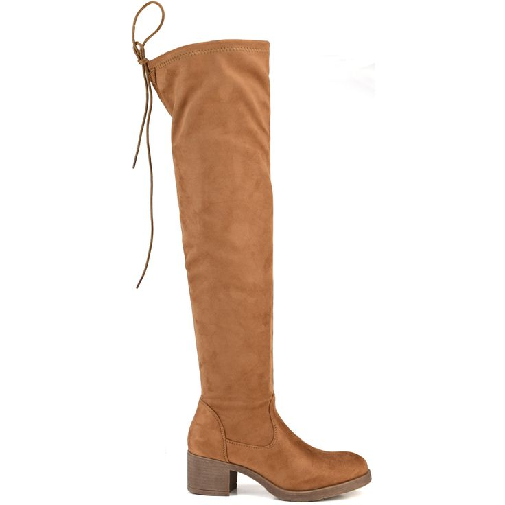 Camel suede boot F1212