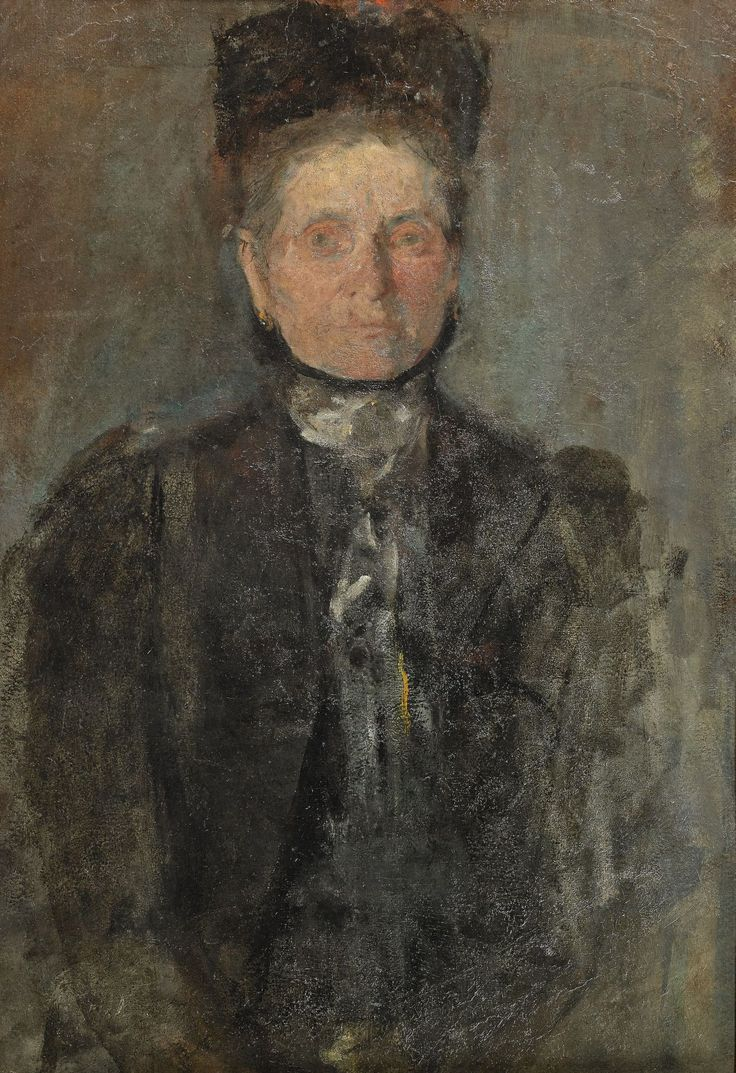 Olga Boznańska (Polish, 1865-1940), Portrait of a woman, c.1900.