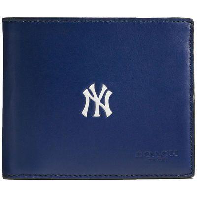Men's New York Yankees Coach Compact ID Wallet