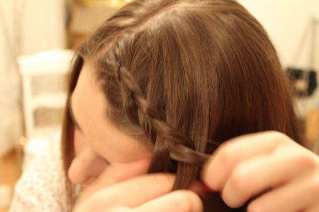 Motebloggen » Slik blir du hårfin til våren.  Hår, fletter, oppsatt, hair, brades, DIY, beauty