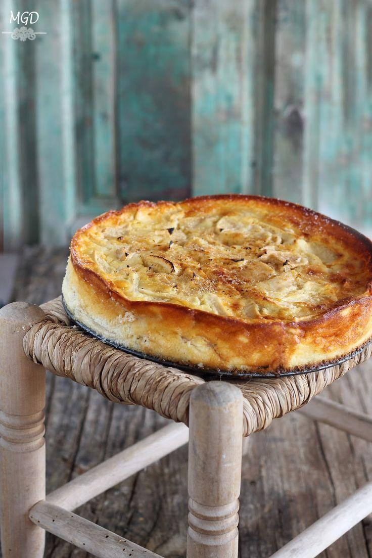 Mi Gran Diversión: Tarta de queso y manzana