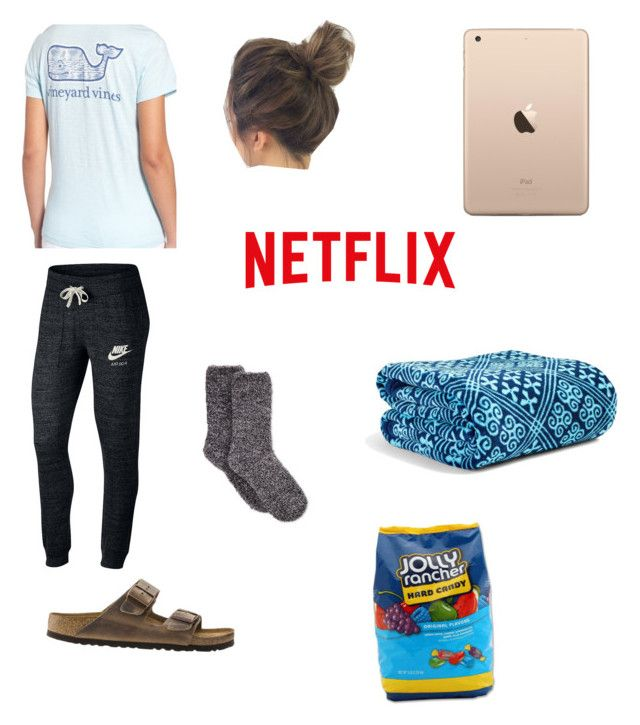 """Time to Relax"" by chandlercroak on Polyvore featuring NIKE, Vineyard Vines, Birkenstock, Vera Bradley and Hard Candy"