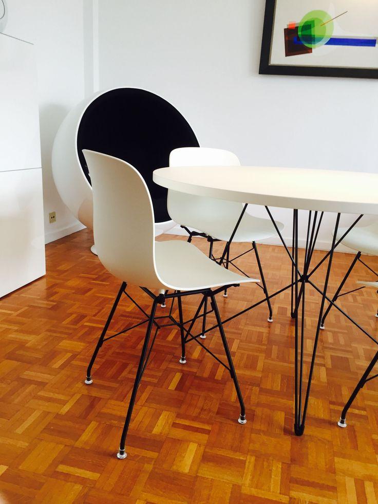 Realisaties Black & White Magis Troy + XZ3 table | Chairpoint