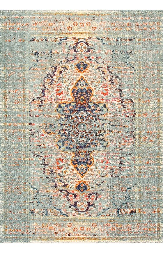 ChromaFaded Gothic Medallion Rug
