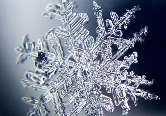 Lenyűgöző fotók! Így néz ki egy hópehely egészen közelről   femina.hu