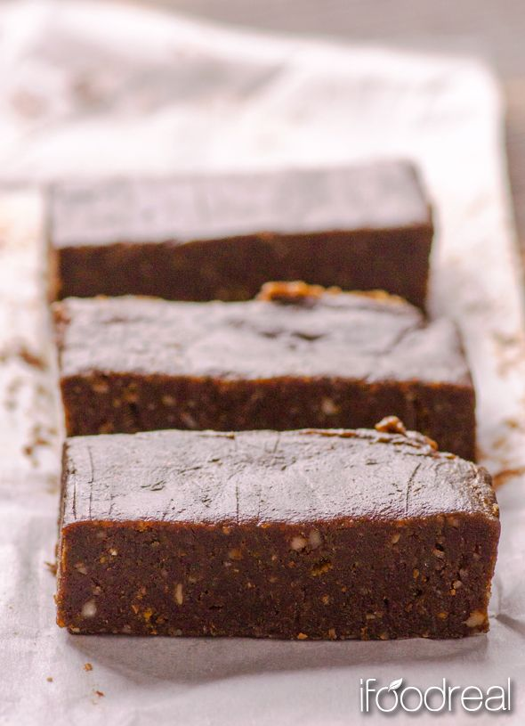Pure Chocolate Brownie Protein Bars