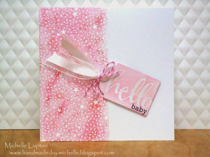 Making patterned paper with stamps