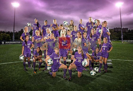 The 2012 University of Washington (UW)women's soccer team.(Photography By Scott Eklund/Red Box Pictures)