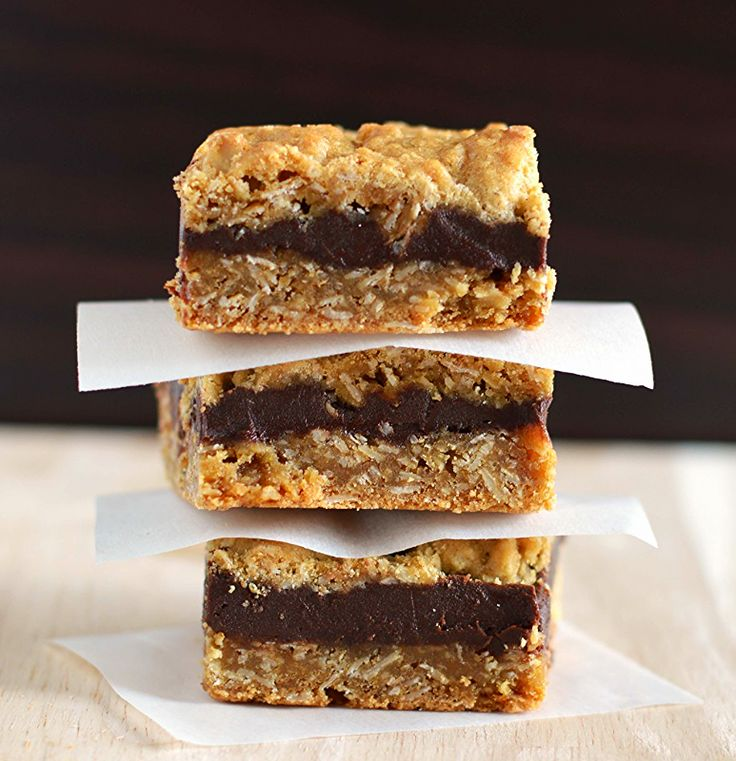 Oat fudge bars.  Starbucks who?  Make your own version and save major money!