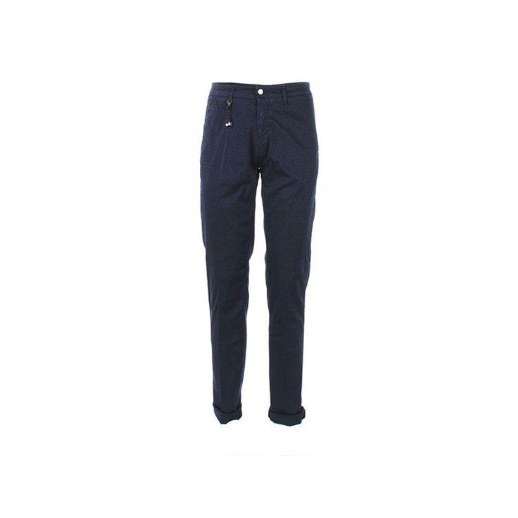 #Pantalón tipo chino entallado de tejido gabardina elástico con multibolsillos y cierre de cremallera y botones de la marca Sseinse. FerrucciVLC