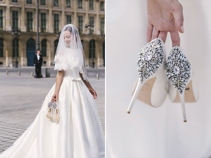 dreameyestudio.pl/ #paris #dreameyestudio #wedding #channel #bride #pronovias #barcaza #bridlshoes #shoes #badgleymischka