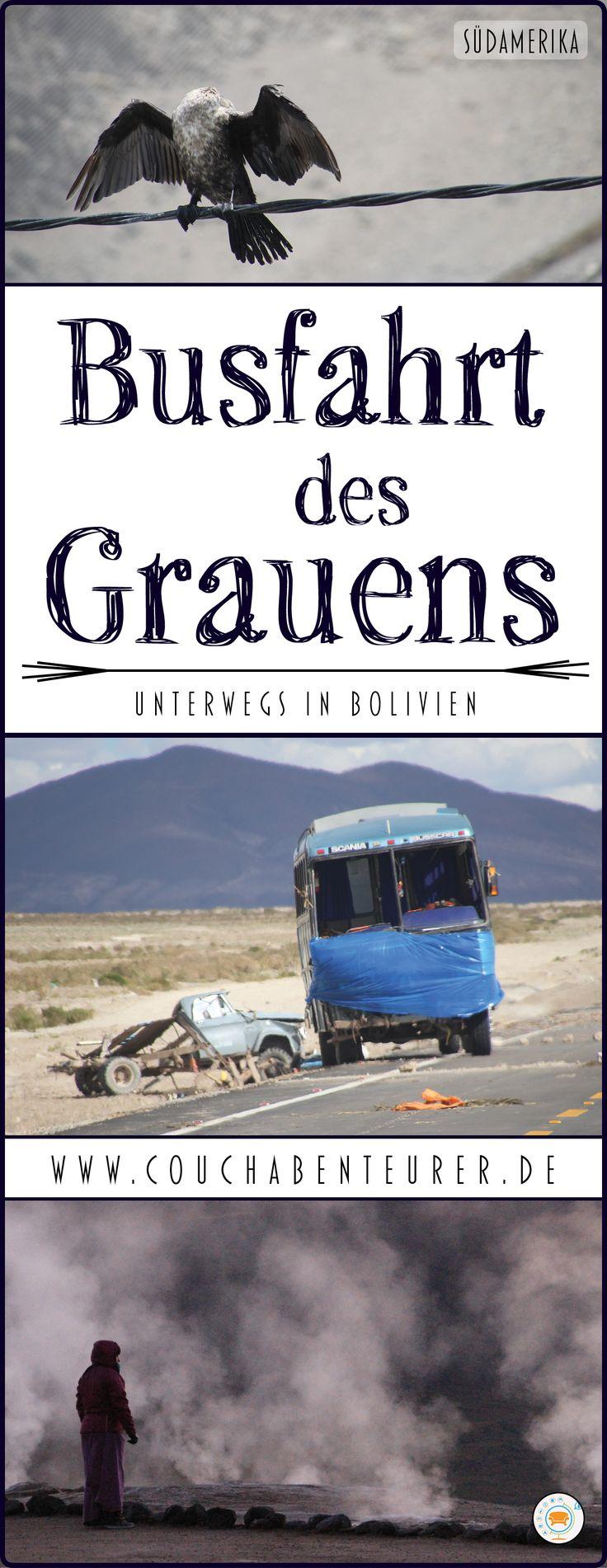 """Busfahren in fremden Ländern ist so eine Sache, es kann eine Luxusreise sein, aber auch ein wahrer Alptraum. Meinen persönlichen hatte ich in Bolivien. Meine, für dich, heitere Geschichte zu """"Busfahrt des Grauens"""" kannst du hier nachlesen."""