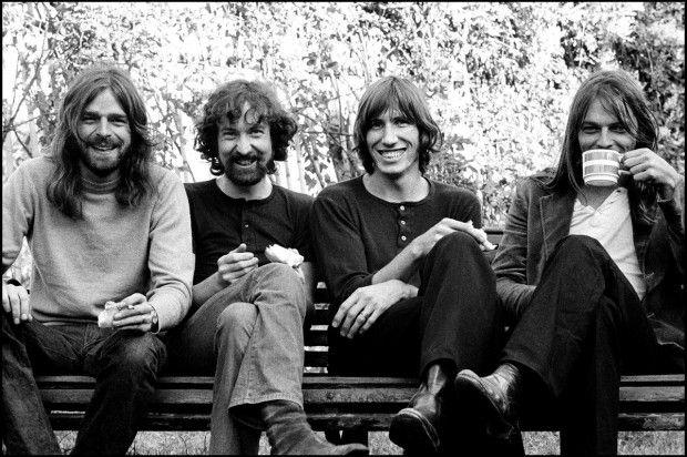 Pink Floyd, 1973, Londra  foto di Thorgerson/ Rockarchive.com