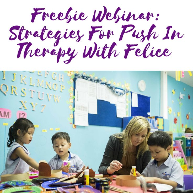 Free Course Strategies for Push In Therapy With Felice