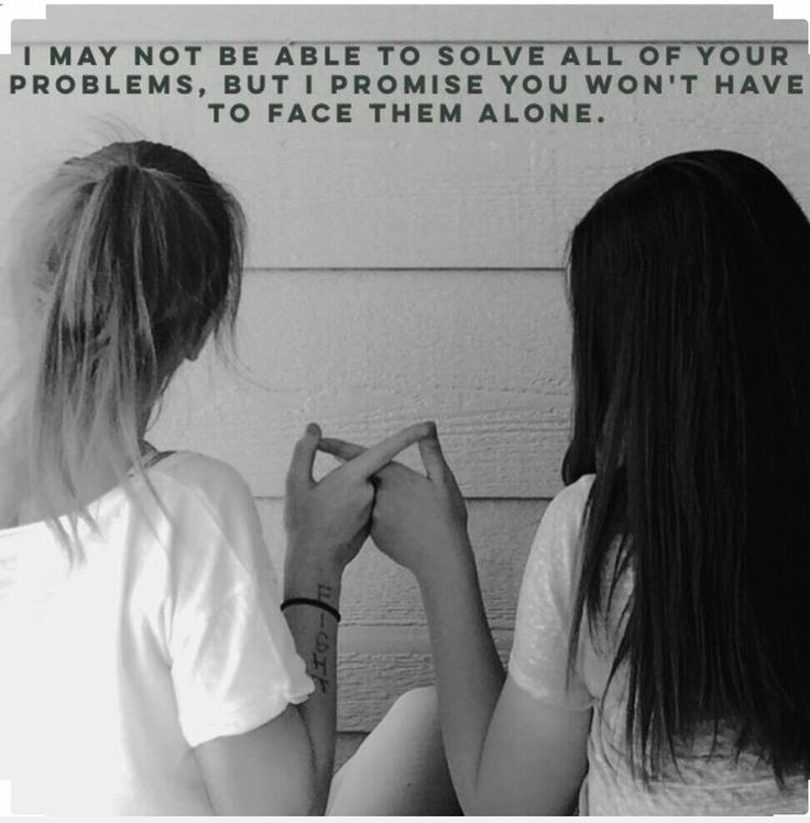 I may not be able to solve all your problems, but I promise you won't have to face them alone!