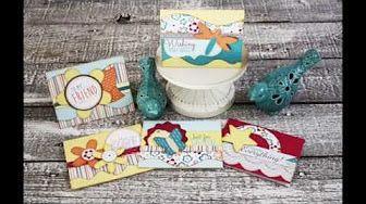 Greetings Kwik Card Kit by Kiwi Lane Designs DIY Handmade Cards