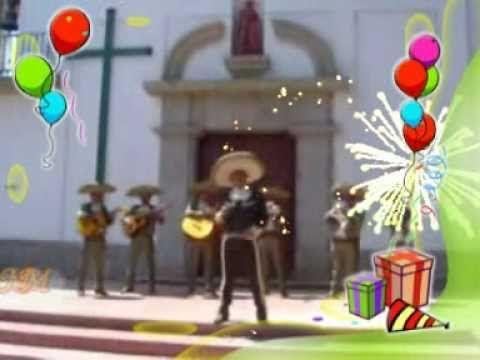 Las mañanitas con mariachi Alejandro Fernández- ORIGINAL - YouTube