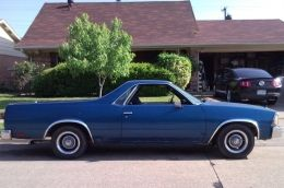 1980 Chevrolet El Camino Blue Ray by DONE DEAL DONNY http://www.truckbuilds.net/1980-chevrolet-el-camino-blue-ray-build-by-done-deal-donny