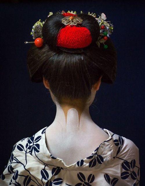 magnifique nuque nippone