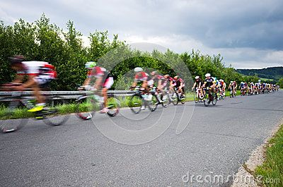 Annual event of Krkonose cycling tour, covering roads of Czech Republic and…