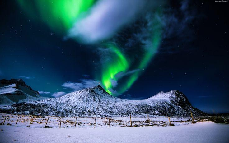 Góry, Zorza polarna
