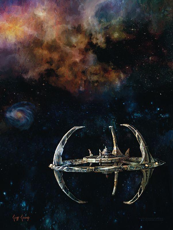 Star Trek Deep Space Nine Bye Bye Robot Poster