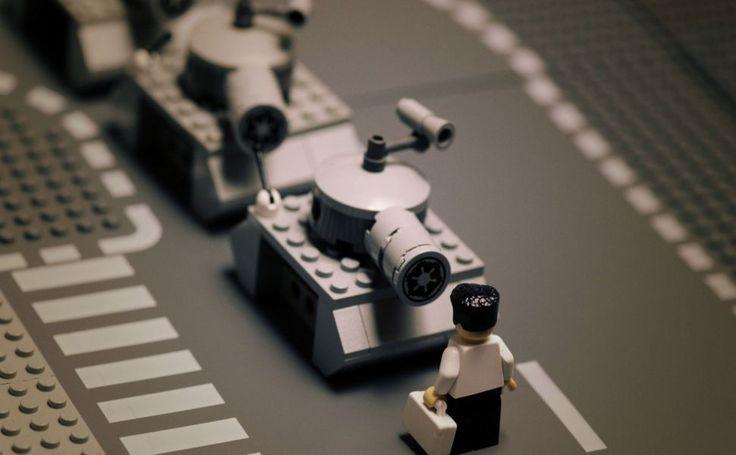 Lego Tank Man HD Wallpaper